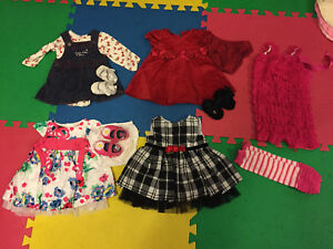 Girls Dresses for Sale Size 0-3 months EUC