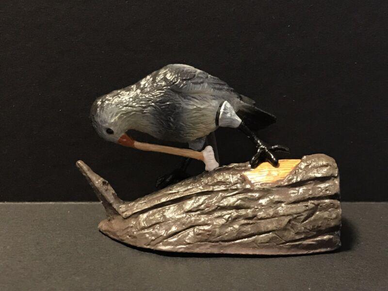 Bandai Kaiyodo Nature Zone Japan Exclusive Woodpecker Finch Bid Figure