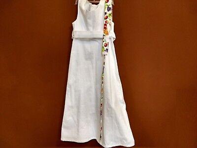 eid + Bolero & Tasche – 134 (1x getragen) (Kommunion Kleider Designer)