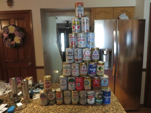 Thirty-one (31) Foreign Pull Tab Beer Cans