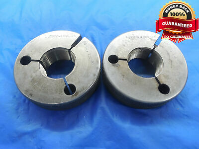 1.0906 16 Ns 2a Thread Ring Gages Go No Go P.d.s 1.0485 1.0435 Uns-2a