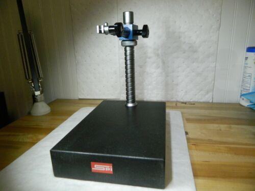 "SPI Comparator Gage Stand Granite Rectangular Base 12"" x 8"" x 2"" 54-253-0"