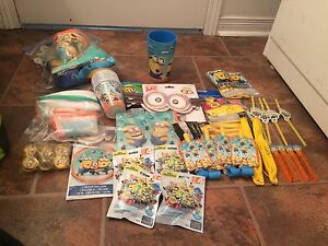 Minion decorations/ party supplys
