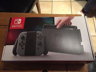 Nintendo Switch Console (Grey) & Carry case bundle