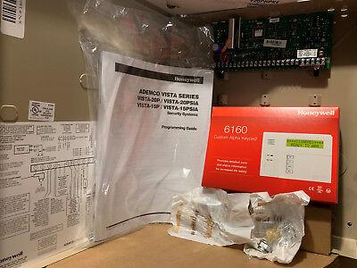 Honeywell Vista 20p and 6160 Custom Alpha Keypad Kit Package
