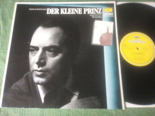LP: WILL QUADFLIEG - Der kleine Prinz - DGG - 1959