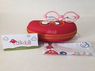 Dilli Dalli Gummy Bear Pediatric Kids Plastic Eyeglass Frame Pink-NEW (Pink Gummy Bear)