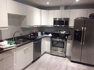 Brand-new basement suite
