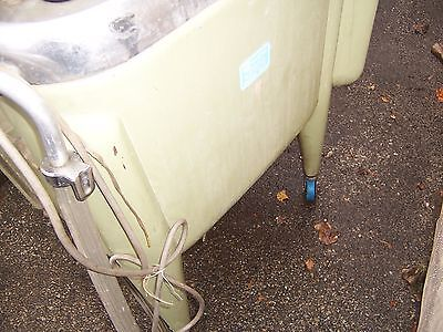 MAYTAG E2LS VERY RARE GREEN VINTAGE WRINGER WASHER WASHING MACHINE