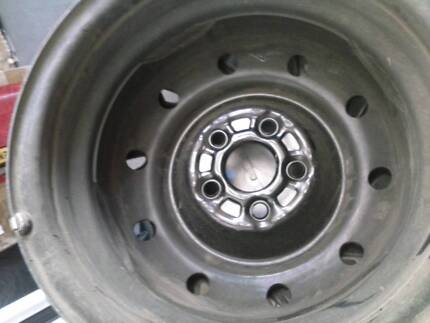 Steel Rims x 4...as new. ex Subaru also suit other vehicles Wyong Wyong Area Preview
