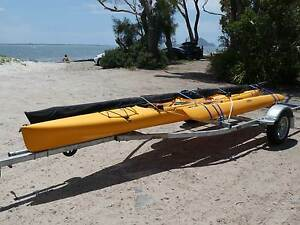 Hobie Adventure Island Kayak c/w trailer Nelson Bay Port Stephens Area Preview