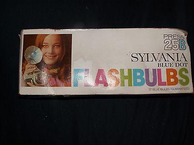 Вспышки, лампы Sylvania Blue Dot Flashbulbs