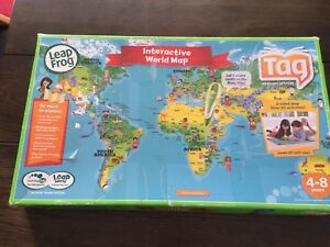 Leapfrog Interactive World Map.Leapfrog Interactive World Map Board Games Gumtree Australia