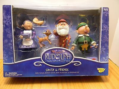 MEMORY LANE Rudolph & The Island Of Misfit Toys Santa & Friends NEW
