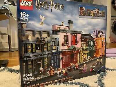 READ!!! Box And Manual Only! Lego harry potter diagon alley 75978