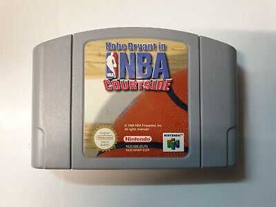 Kobe Bryant in NBA Courtside Video Game for Nintendo N64 PAL TESTED