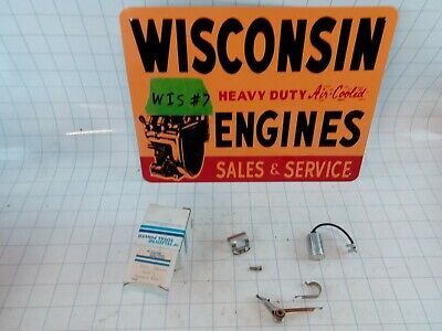 Wisconsin Engine New Old Stock Points And Condenser Kit Yq24 Free Sh