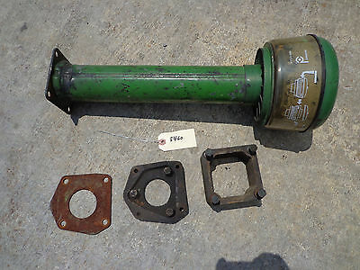 John Deere 730 Air Cleaner Base Stack Tube With Precleaner Spacer Block