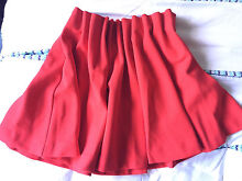 H&M textured red paperbag skirt, 38/8-10 Crows Nest North Sydney Area Preview