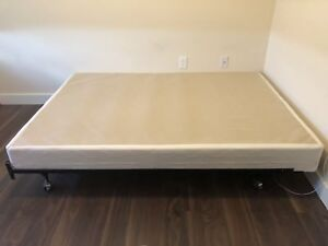 Bed frame and box queen size