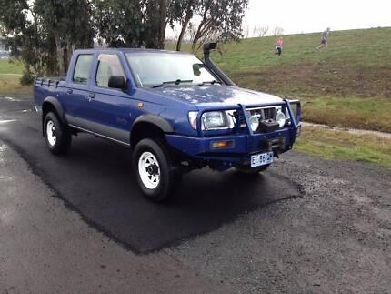 1999 Nissan Navara Diesel 4x4 Ute Invermay Launceston Area Preview