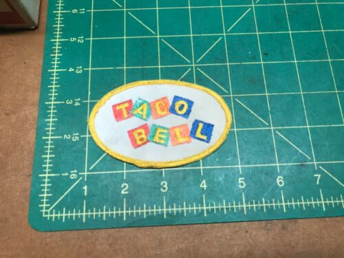 Vintage Taco Bell patch
