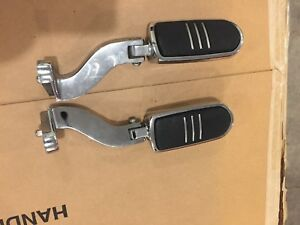 HD touring rear pegs and brackets