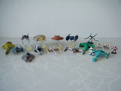 Collection of STAR WARS MICRO MACHINES