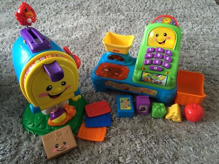 Fisher Price Letterbox & Cash Register $20ea East Maitland Maitland Area Preview