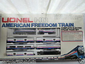 LIONEL-5-2586-HO-Scale-THE-AMERICAN-FREEDOM-TRAIN-Limited-Edition-Train-Set