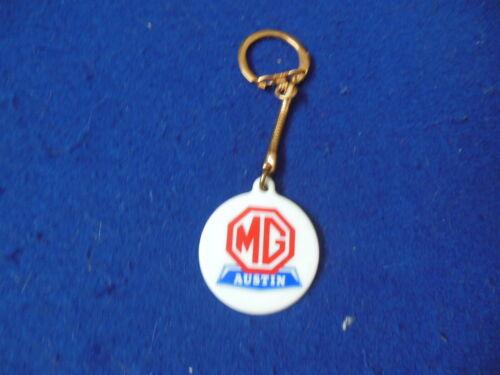 NOS British Leyland Dealer Giveaway MG Austin Logo Key Chain MGB Midget America
