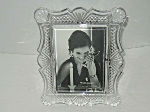 """Waterford Crystal Picture Frame 8"""" X 6.5"""" Pre-Loved Good"""