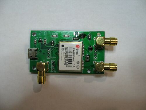 the smallest and simplest GPSDO, based on U-blox LEA M8F module