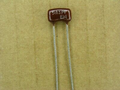 assorted values and voltage Dipped Mica Capacitor Grab Bag 100+ pcs.