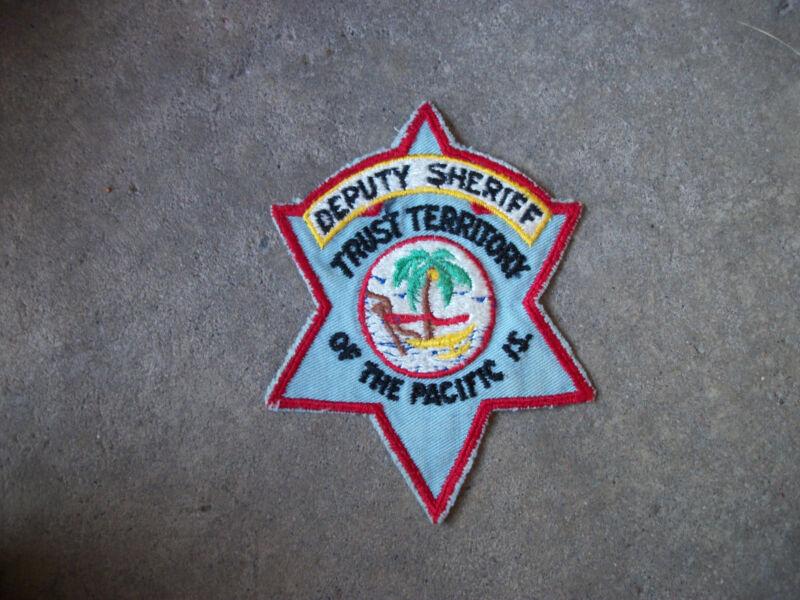 Micronesia Deputy Sheriff Trust Territory Pacific Islands Guam police patch 2
