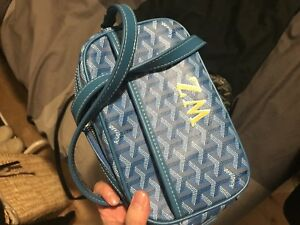 goyard with initials and receipt