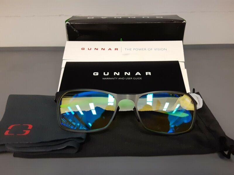 Gunnar Razer FPS Onyx Amber Gaming Computer Glasses. New/Open box