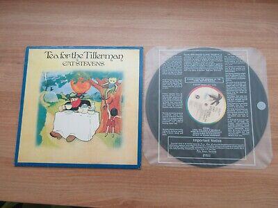 CAT STEVENS - Tea For The Tillerman Korea Vinyl LP 1990 RARE