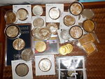 Silver Eagle Coins and Antiques