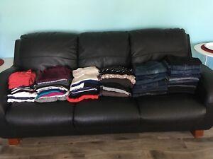 Maternity clothing lot