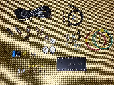 Tweed Champ 5F1 Parts Kit With Switchcraft  Mallory  Ceramic Sockets  Diy Kit