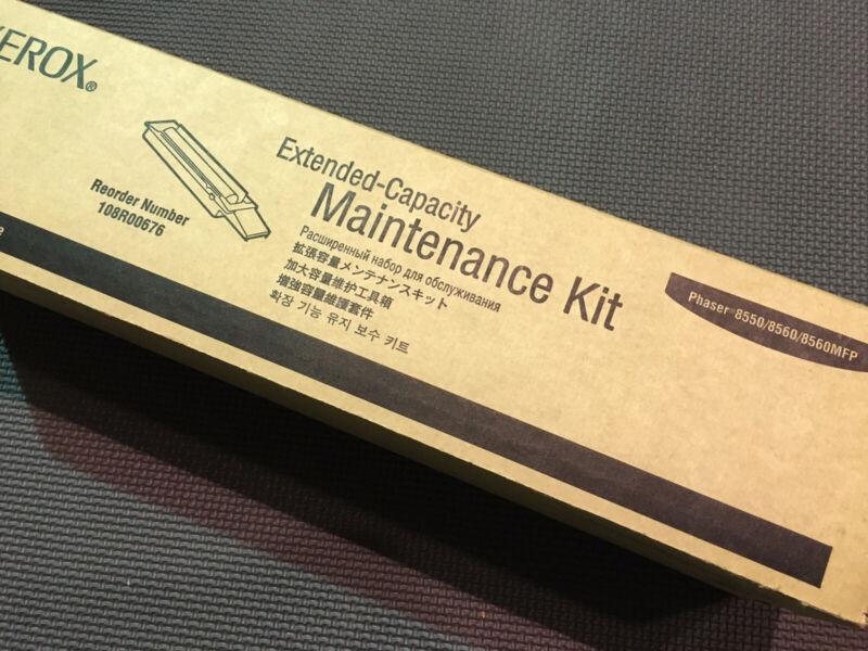 OEM Xerox 108R00676 - Extended Capacity Maintenance Kit for Phaser 8550 8560/MFP