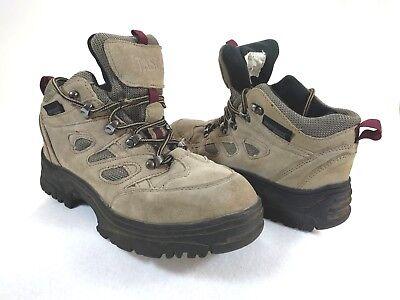 Itasca Nylon Boot (Itasca Women's Hiking Boots Congo Waterproof Beige 457704 Leather Nylon Sz 8.5)