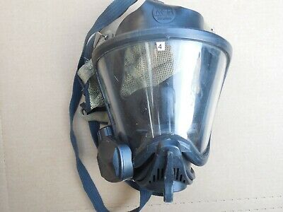 Msa Scba Ultra Elite Medium Full Face Mask Respirator Firehawk Nightfighter Ii