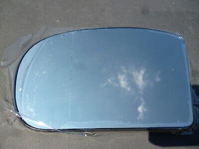 Spiegelglas Außenspiegel Links Heizbar Asphärisch Blau MERCEDES W203 CL203 W211