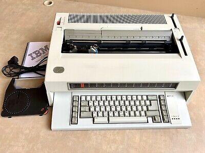 Refurbished Ibm Lexmark Wheelwriter 3 Ser Ii Typewriter Updated Cover 16.5 Wide