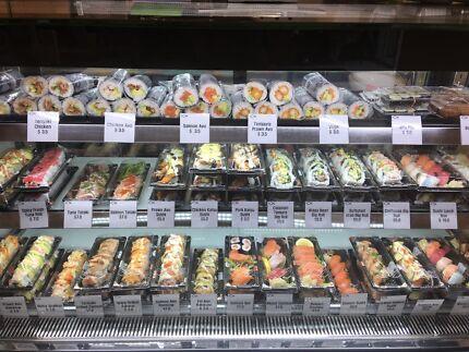 Japanese takeaway shop sale