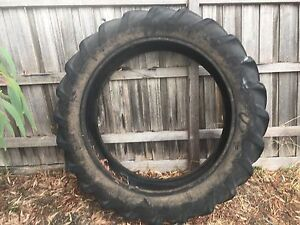 Large Tractor Tyre Anakie Outer Geelong Preview