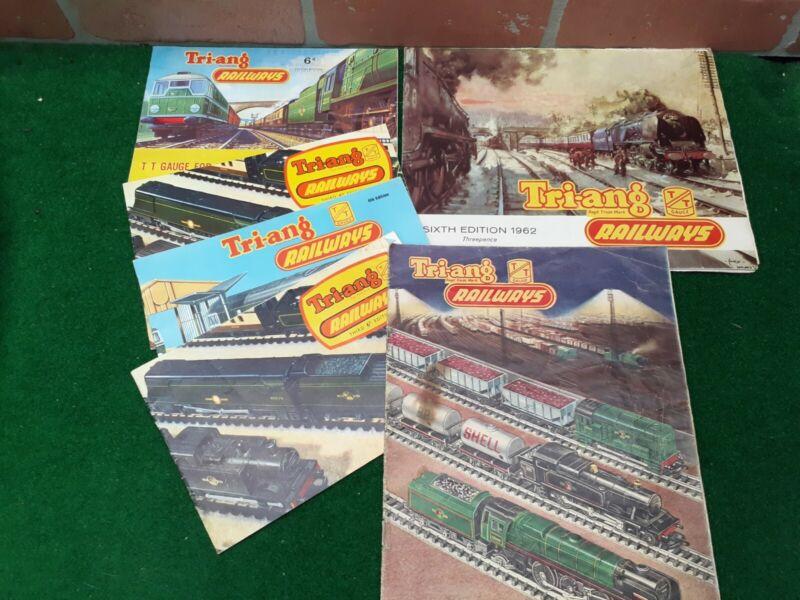 Triang Railways TT Gauge Catalogues Brochures