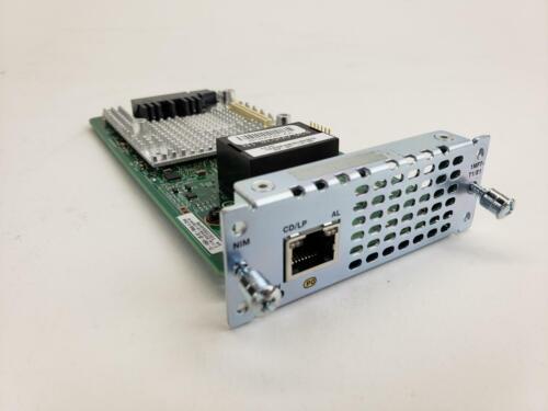 CISCO NIM-1MFT-T1/E1 1-Port Multi-flex Trunk Module Clear-channel Card T1/E1 NIM